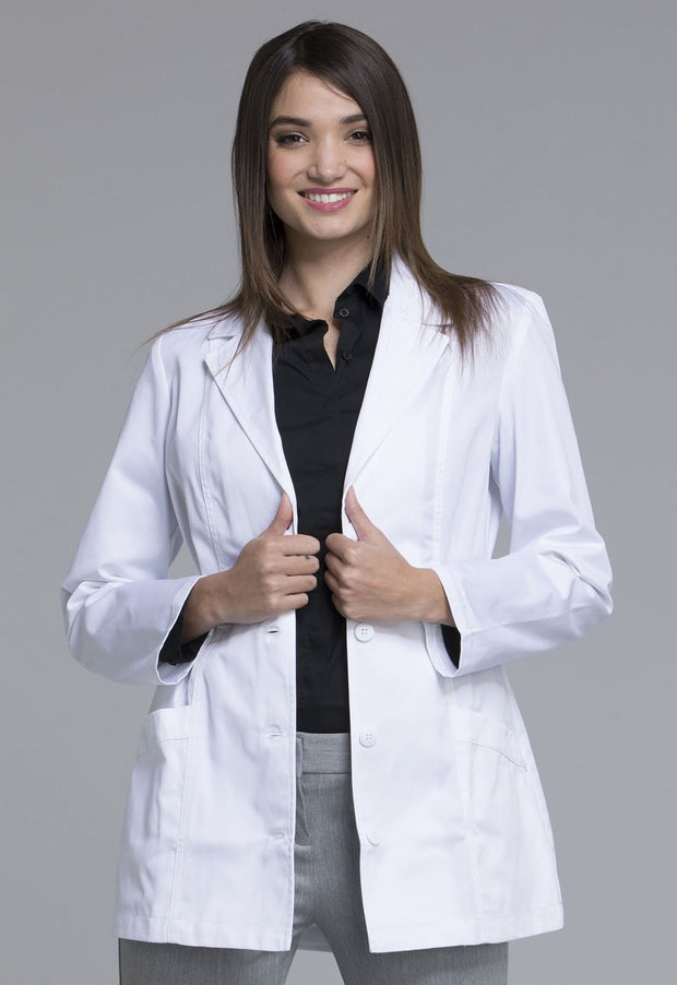 "Cherokee Fashion White Lab Coat Women's 30"" Lab Coat - 2316 - ScrubHaven"