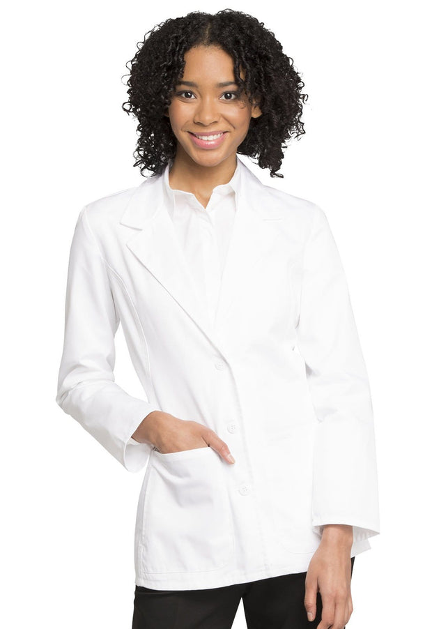 "Cherokee Fashion White Lab Coat Women's 28"" Lab Coat - 2317 - ScrubHaven"