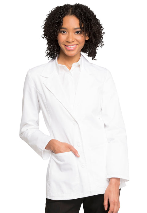 "Cherokee Fashion White Lab Coat Women's 28"" Lab Coat - 2317"