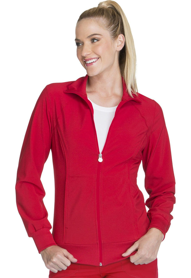 2391A Zip Front Warm-Up Jacket