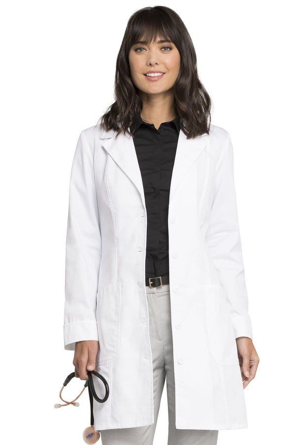 "Cherokee Fashion Whites Women's 36"" Lab Coat - 2410 - ScrubHaven"