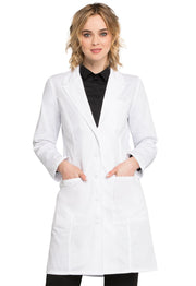 "Cherokee Professional Whites Women's 37"" Lab Coat - 2411"