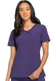 Cherokee Infinity Women's Mock Wrap Top - 2625A