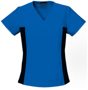 Cherokee Contrast Scrub Top | Flexibles Women's Top - 2874