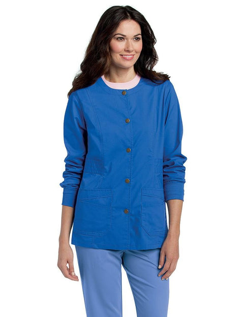 3035 WOMENS PRE-WASHED WARM-UP - ScrubHaven