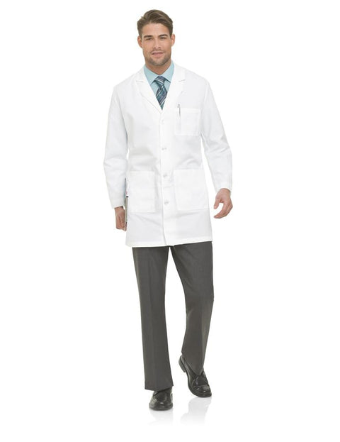 3124 MEN'S LAB COAT - ScrubHaven