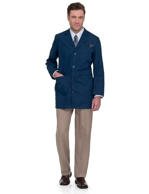 3163 MEN'S LAB COAT - ScrubHaven