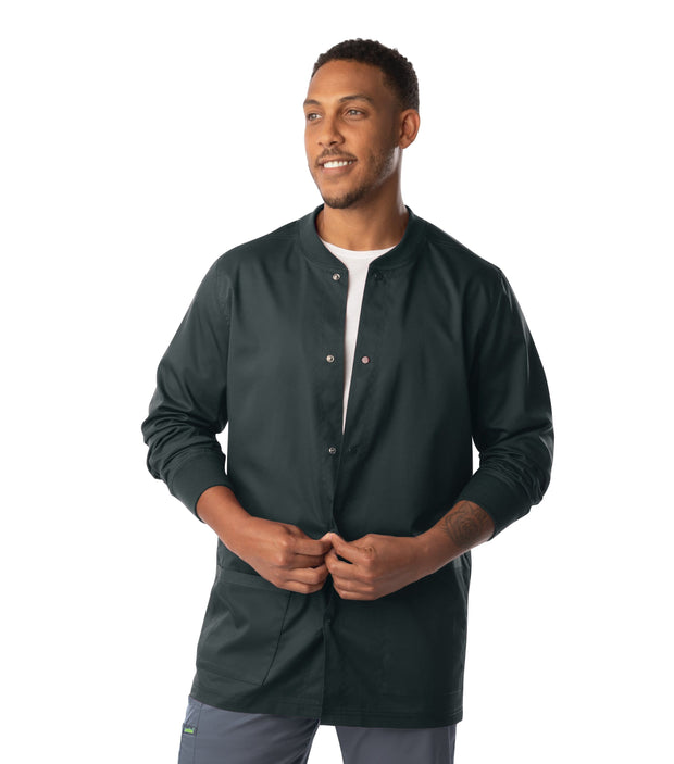 3170 MENS WARMUP WITH KNIT COLLAR AND CUFFFS - ScrubHaven