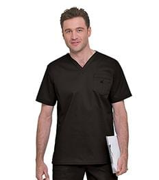 4098 MEN'S STRETCH V-NECK TOP - ScrubHaven
