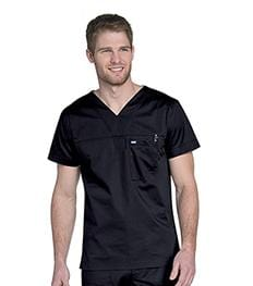 4127 MEN'S V NECK TOP - ScrubHaven