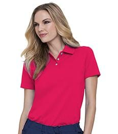 613<br> FEMALE FIT POLO