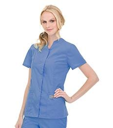 70223 WOMENS SNAP FRONT TUNIC