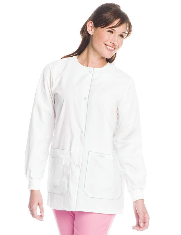 7533 WOMENS DRAWSTRING WARMUP JACKET