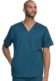 Dickies Gen Flex Men's (Contrast) V-Neck Top - 81722