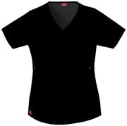 Dickies Gen Flex (Contrast) Women's Mock Wrap Top - 817355