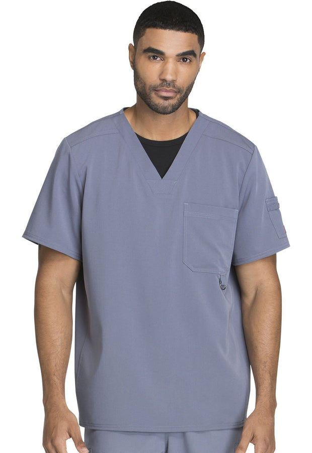 Dickies Xtreme Stretch Men's Men's Men's V-Neck Top - 81910 - ScrubHaven