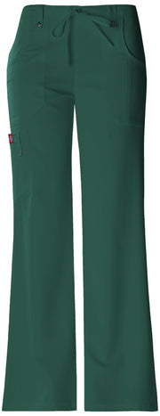 Dickies Xtreme Stretch Women's Mid Rise Drawstring Cargo Pant - 82011P  Petite