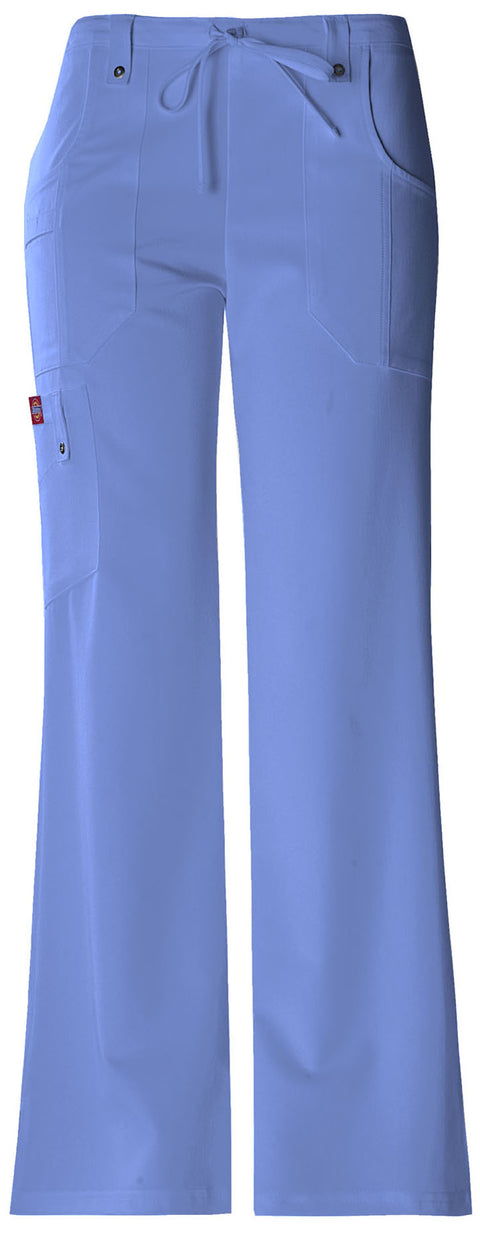 Dickies Xtreme Stretch Women's Mid Rise Drawstring Cargo Pant - 82011T  Tall