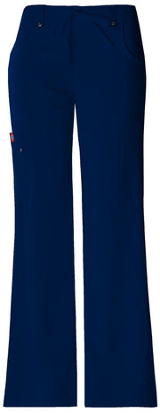 Dickies Xtreme Stretch Women's Mid Rise Drawstring Cargo Pant - 82011T  Tall - ScrubHaven
