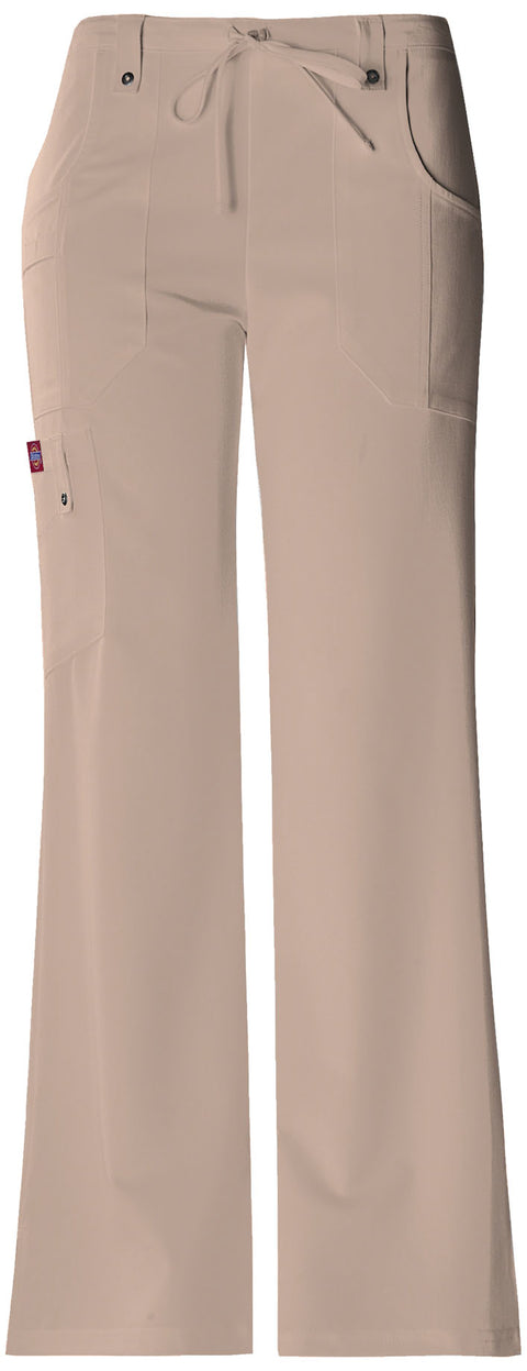Dickies Xtreme Stretch Women's Mid Rise Drawstring Cargo Pant - 82011