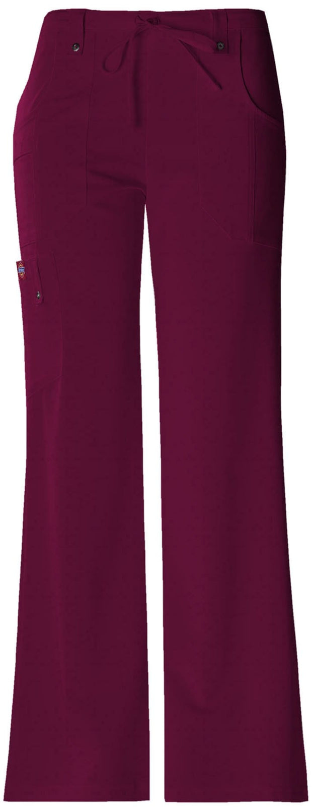 Dickies Xtreme Stretch Women's Mid Rise Drawstring Cargo Pant - 82011 - ScrubHaven