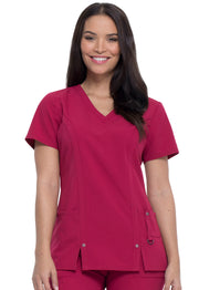 Dickies Xtreme Stretch Women's V-Neck Top - 82851