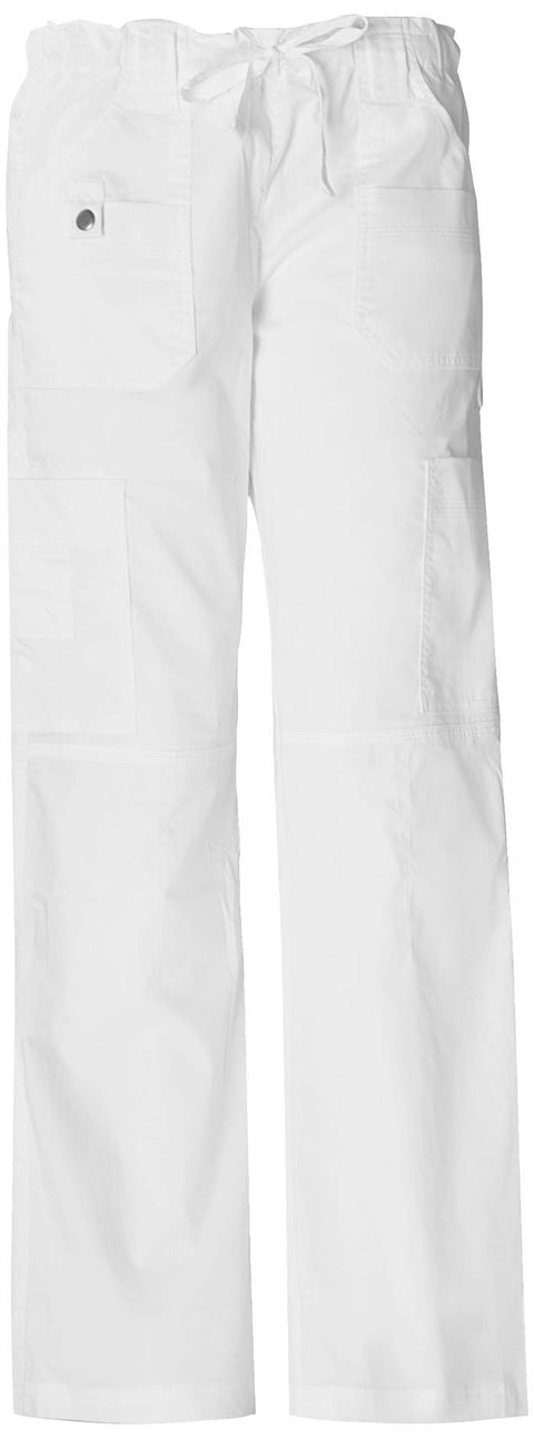 Dickies Gen Flex (Contrast) Women's Low Rise Drawstring Cargo Pant - 857455T  Tall - ScrubHaven