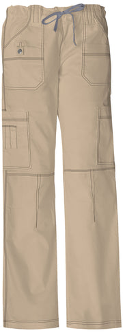 Dickies Gen Flex (Contrast) Women's Low Rise Drawstring Cargo Pant - 857455T  Tall