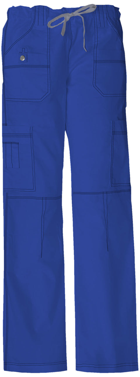 Dickies Gen Flex (Contrast) Women's Low Rise Drawstring Cargo Pant - 857455