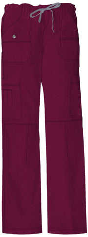 Dickies Gen Flex (Contrast) Women's Low Rise Drawstring Cargo Pant - 857455 - ScrubHaven