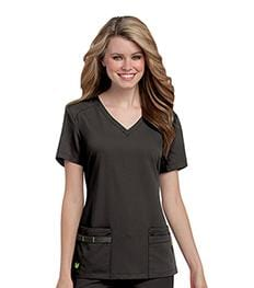 9044<br> WOMENS JULIE CLASSIC 4-POCKET TUNIC