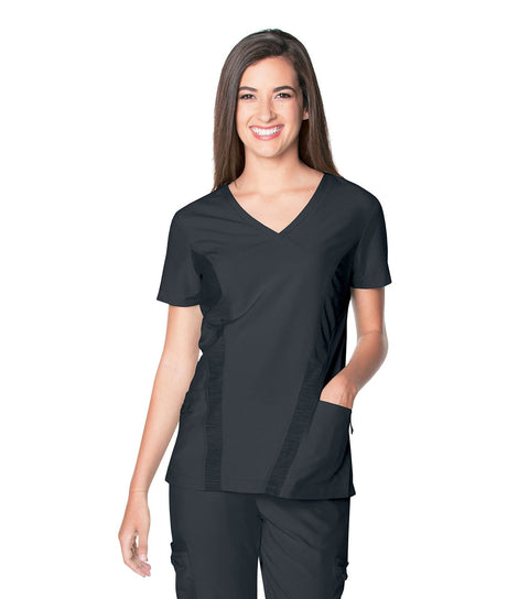 9061 WOMENS QUICK COOL V NECK TOP