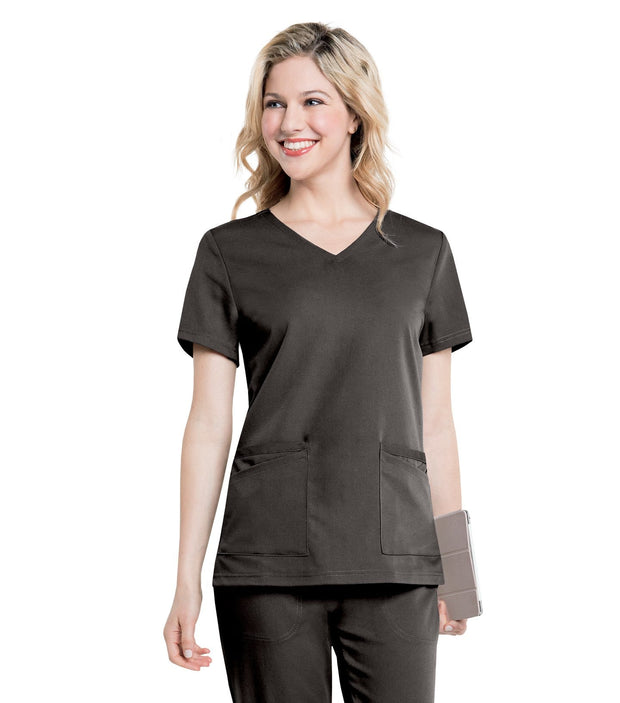 "9063 CHELSEA"" SOFT V-NECK TUNIC"""