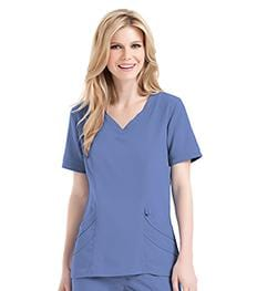 9550 WOMENS CHLOE SWEETHEART NECK TUNIC