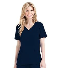 9550<br> WOMENS CHLOE SWEETHEART NECK TUNIC