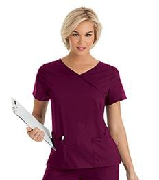 9577 WOMENS SOPHIE CROSSOVER TUNIC