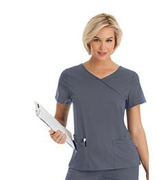 9577<br> WOMENS SOPHIE CROSSOVER TUNIC