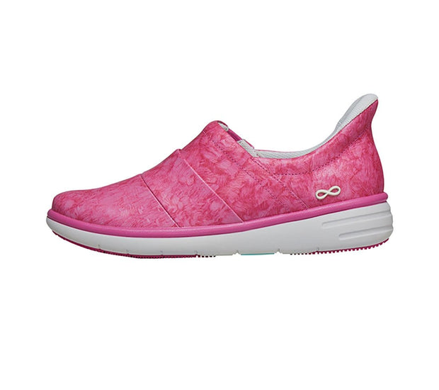 Infinity Footwear   Women's Infinity Leather Breeze Slip-On - BREEZE - ScrubHaven