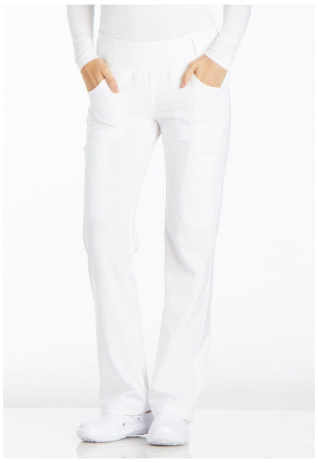 CK002T<br> Mid Rise Straight Leg Pull-on Pant (Tall)