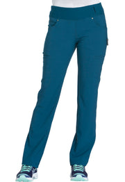 CK002 Mid Rise Straight Leg Pull-on Pant