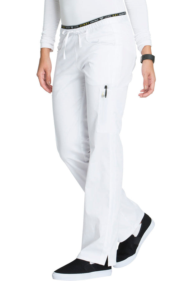CK003T<br> Mid Rise Straight Leg Pull-on Pant (Tall)