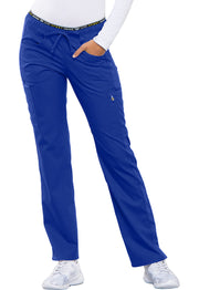 CK003 Mid Rise Straight Leg Pull-on Pant