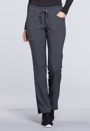 CK010T Mid Rise Tapered Leg Drawstring Pants (Tall)