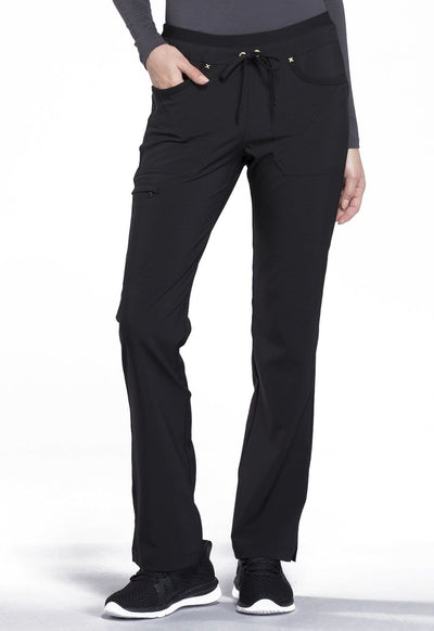 CK010<br> Mid Rise Tapered Leg Drawstring Pants