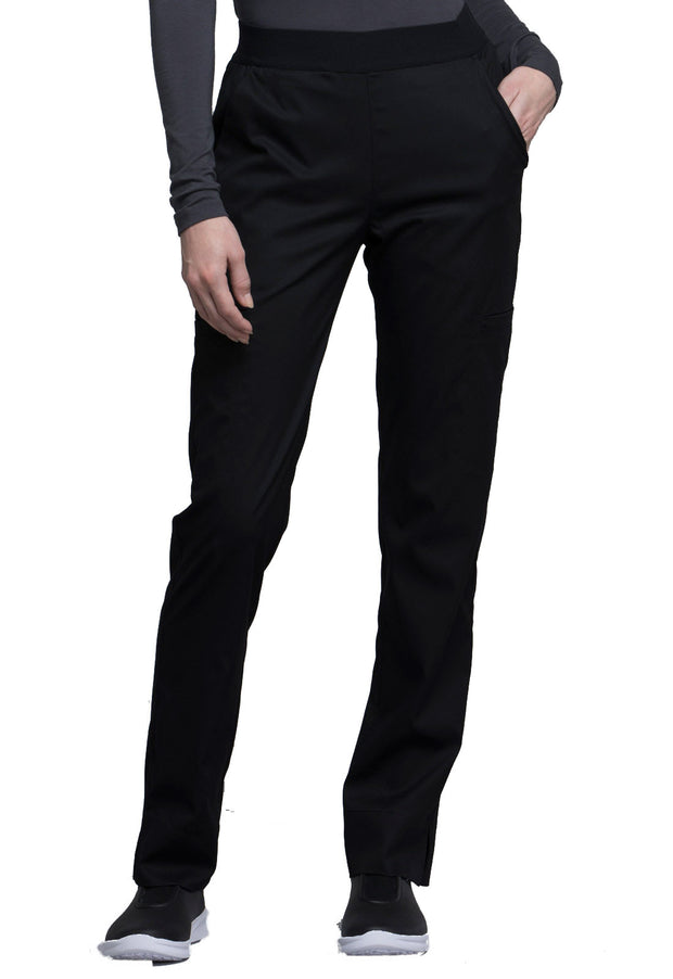 CK040P<br> Natural-Rise Tapered Leg Pant (Petite)