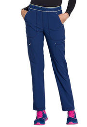 Cherokee Infinity Women's Mid Rise Tapered Leg Pull-on Pant - CK050A