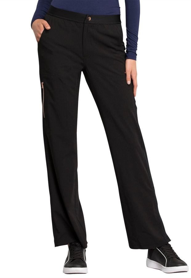 Cherokee Statement by Cherokee Women's Natural Rise Flare Leg Pant - CK060P  Petite
