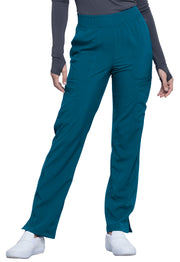 Cherokee Infinity Women's Mid Rise Tapered Leg Pull-on Pant - CK065AT  Tall