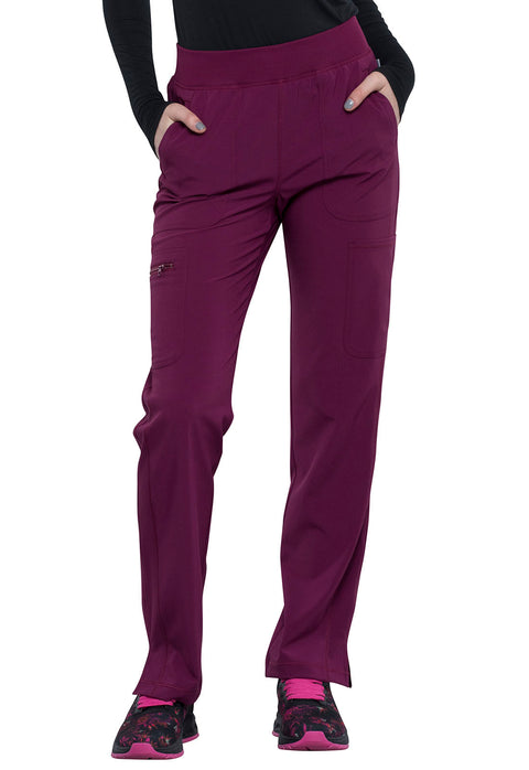 Cherokee Infinity Women's Mid Rise Tapered Leg Pull-on Pant - CK065A