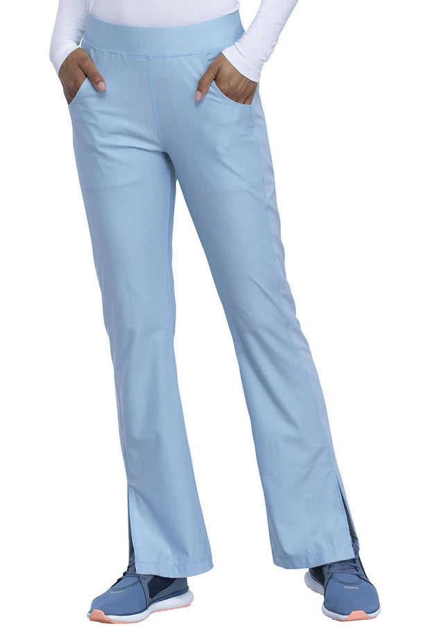 Cherokee Form by Cherokee Women's Mid Rise Moderate Flare Leg Pull-on Pant - CK091P  Petite - ScrubHaven